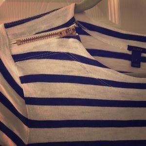 J. Crew Striped long sleeve tee